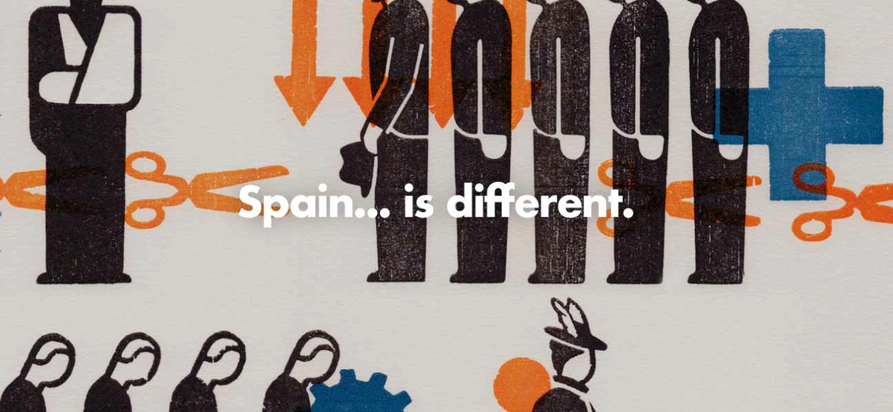 'Spain… is different', el universo visual de Gerd Arntz por BunkerType - 2