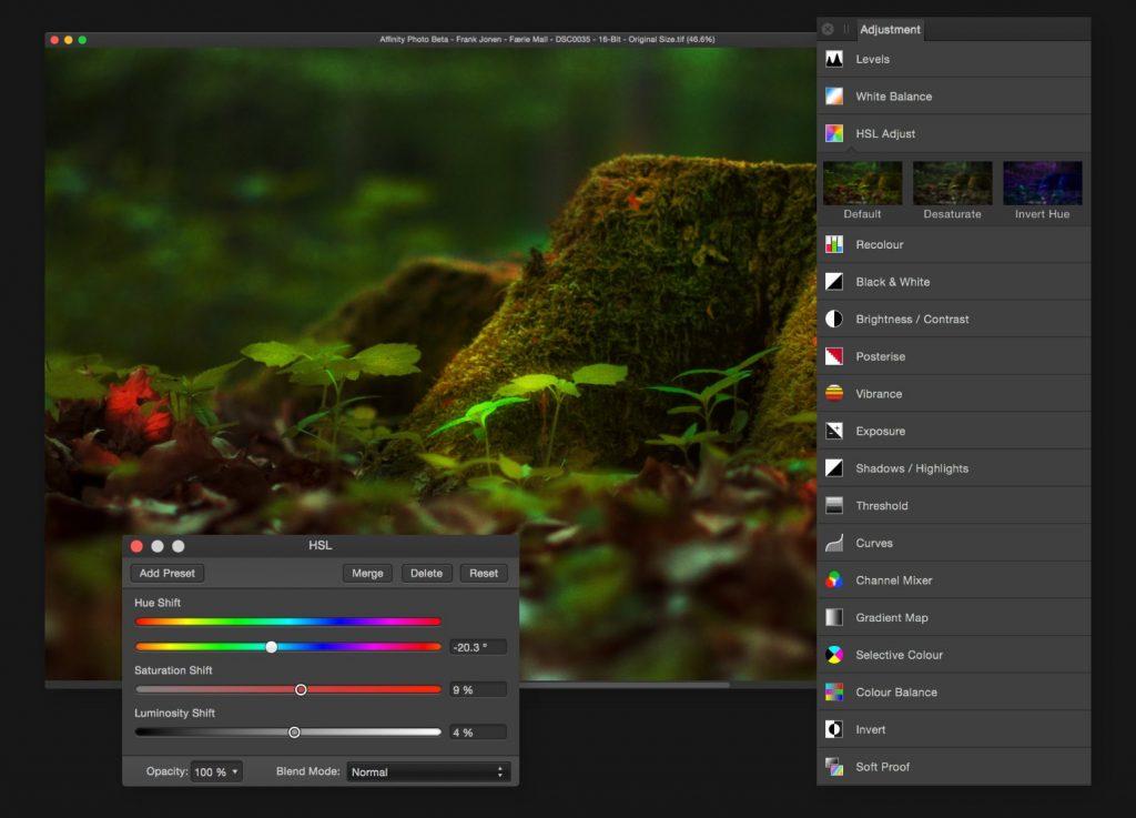 Affinity Photo para Windows ahora en versión beta, pública y gratuita - 2