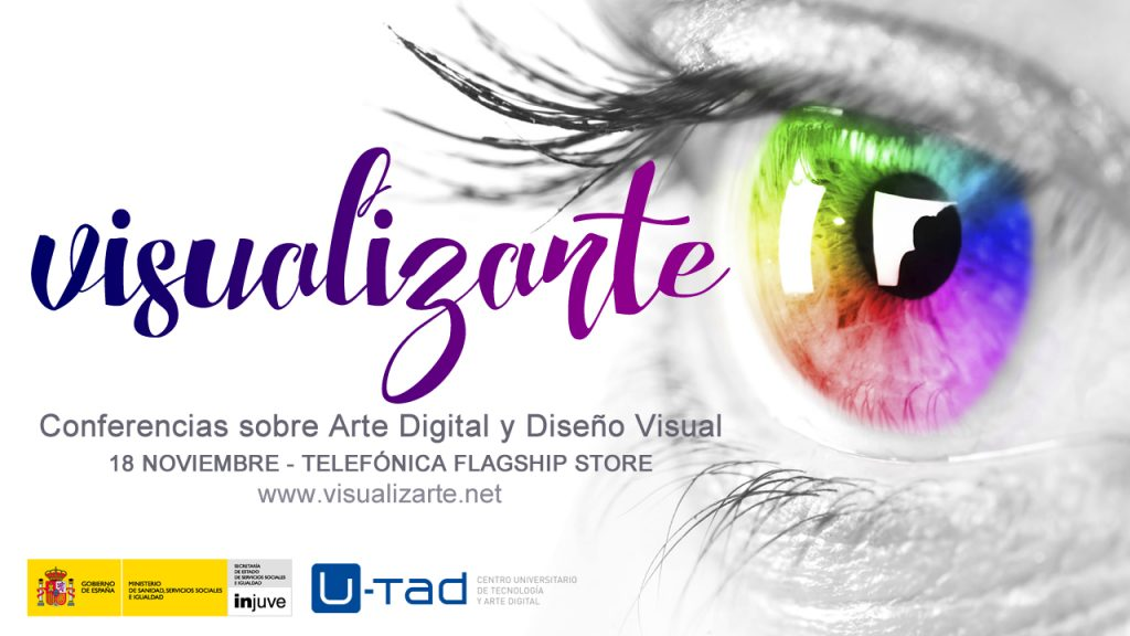 VisualizArte, las conferencias gratuitas sobre Arte Digital y Diseño Visual en Madrid