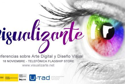 VisualizArte, las conferencias gratuitas sobre Arte Digital y Diseño Visual en Madrid