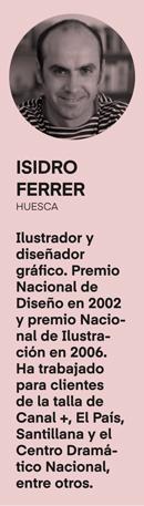 Isidro Ferrer en el tercer número de la revista Gràffica 'La formación en diseño' - perfil