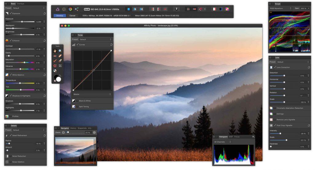 Affinity Photo para Windows ahora en versión beta, pública y gratuita - 5