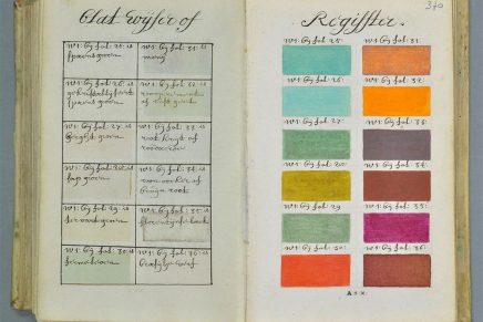 El 'bisabuelo' de la carta Pantone: el tratado de color de A. Boogert