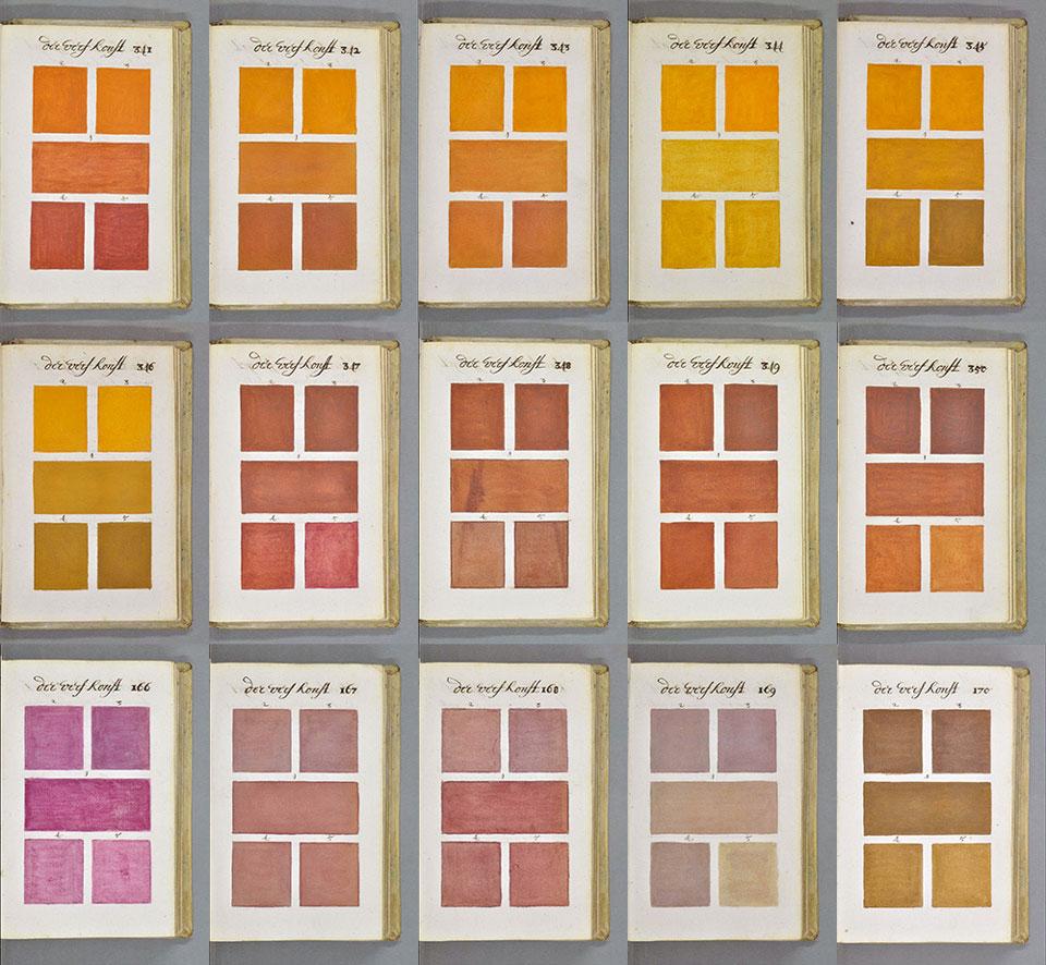 El 'bisabuelo' de la carta Pantone: el tratado de color de A. Boogert - 5