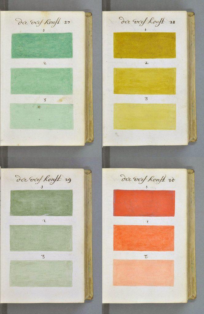 El 'bisabuelo' de la carta Pantone: el tratado de color de A. Boogert - 2