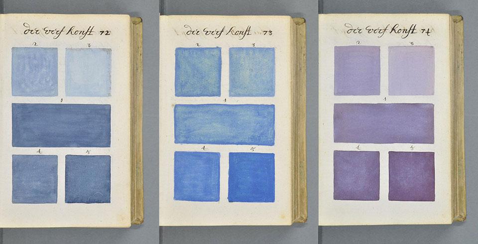 El 'bisabuelo' de la carta Pantone: el tratado de color de A. Boogert - 1