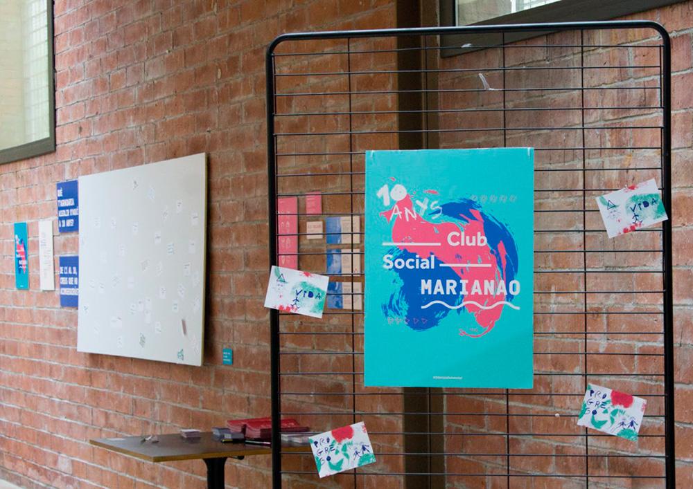 Identidad del Club Social Marianao, de Cristina Carrero, 1r Premio Acento G 2016