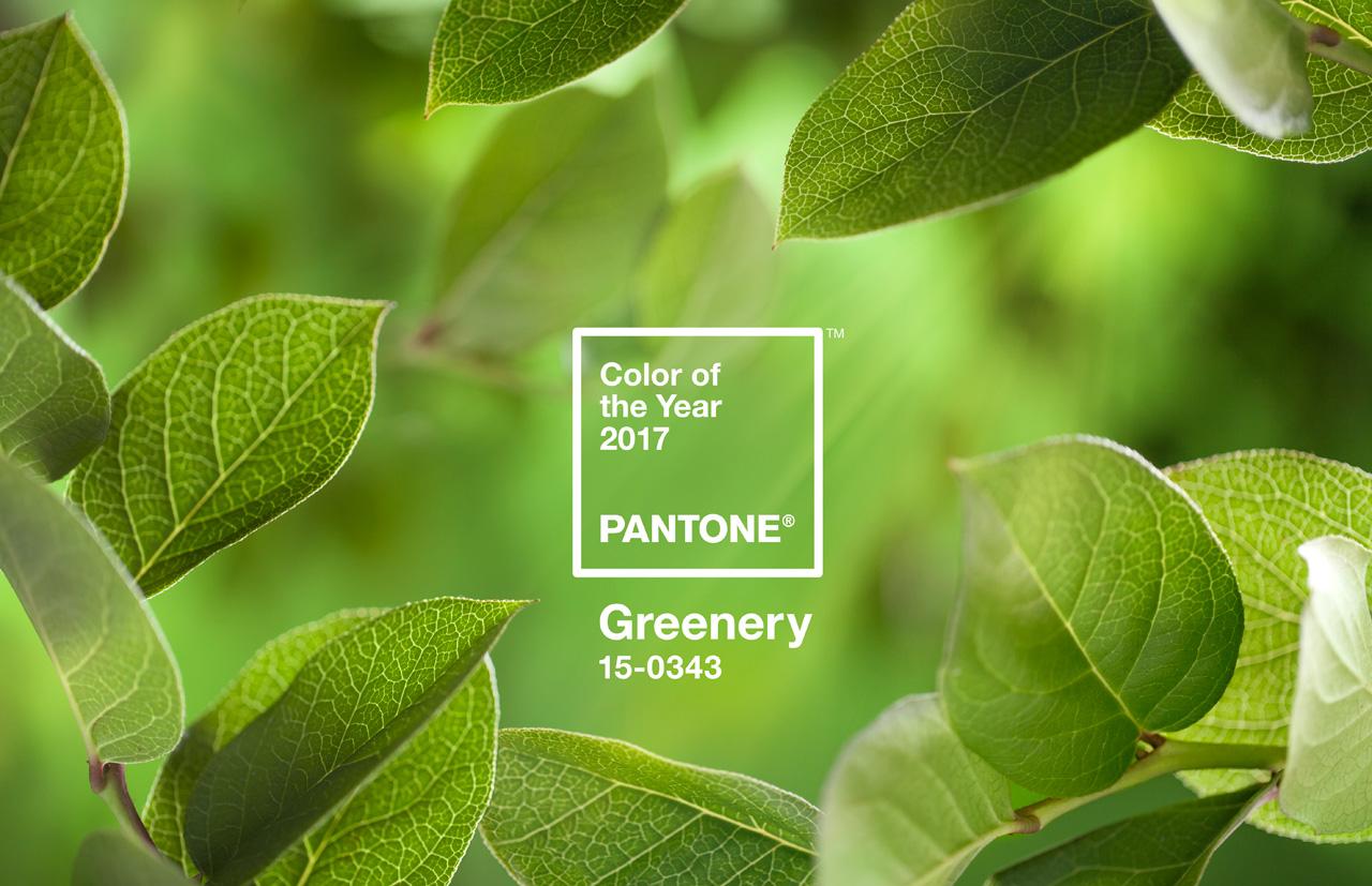 Greenery es el PANTONE Color del Año 2017