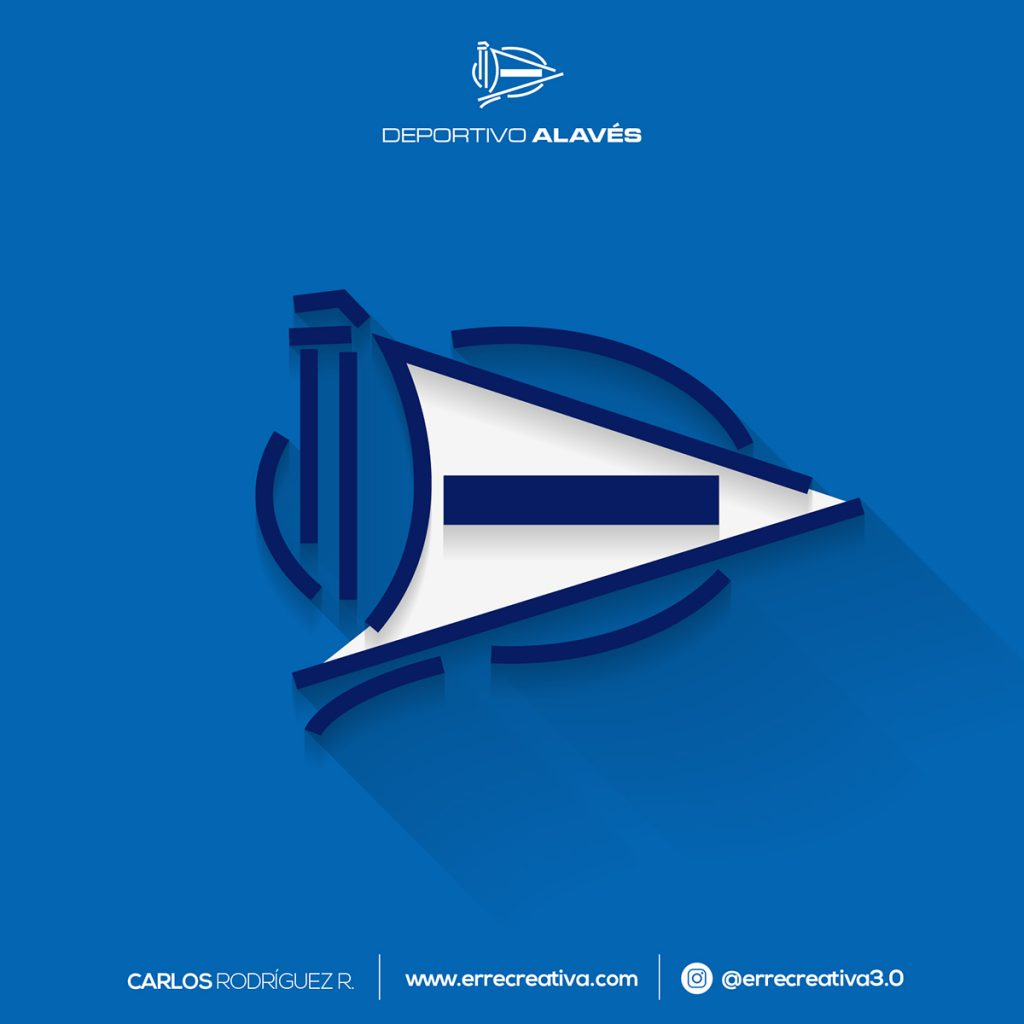 escudos de La Liga se diseñaran en flat design? - 21