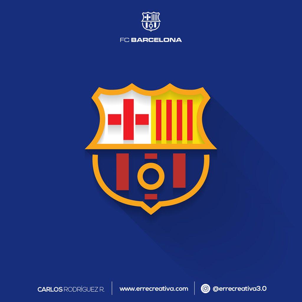 escudos de La Liga se diseñaran en flat design? - 18