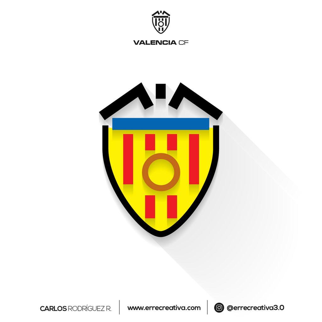 ¿Qué pasaría si los escudos de La Liga se diseñaran en flat design? - 3