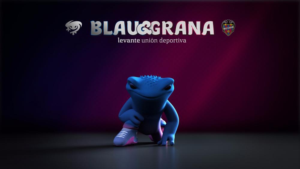 Así son las nuevas mascotas del Levante UD: Blau y Grana - 1