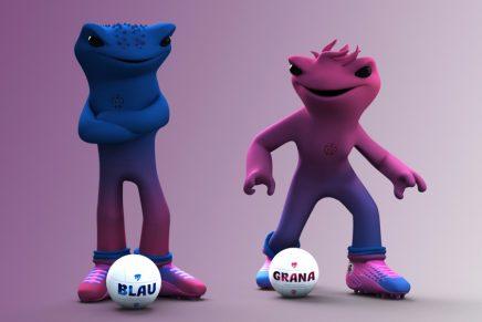 Así son las nuevas mascotas del Levante UD: Blau y Grana