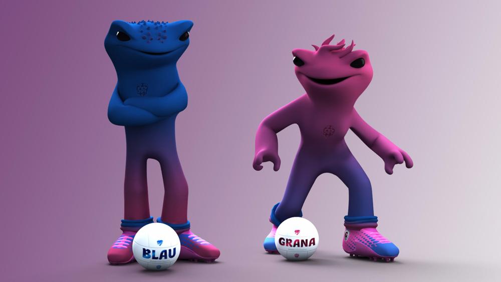 Así son las nuevas mascotas del Levante UD: Blau y Grana - 9