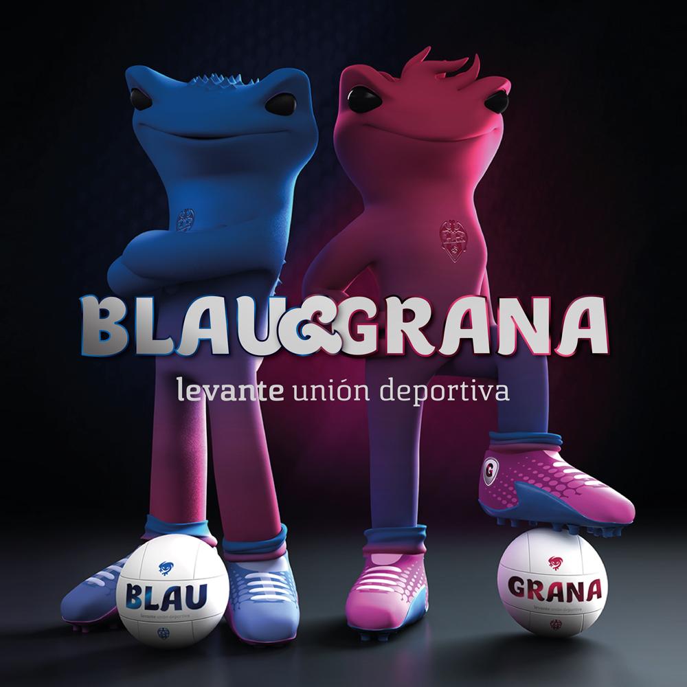 Así son las nuevas mascotas del Levante UD: Blau y Grana - 4