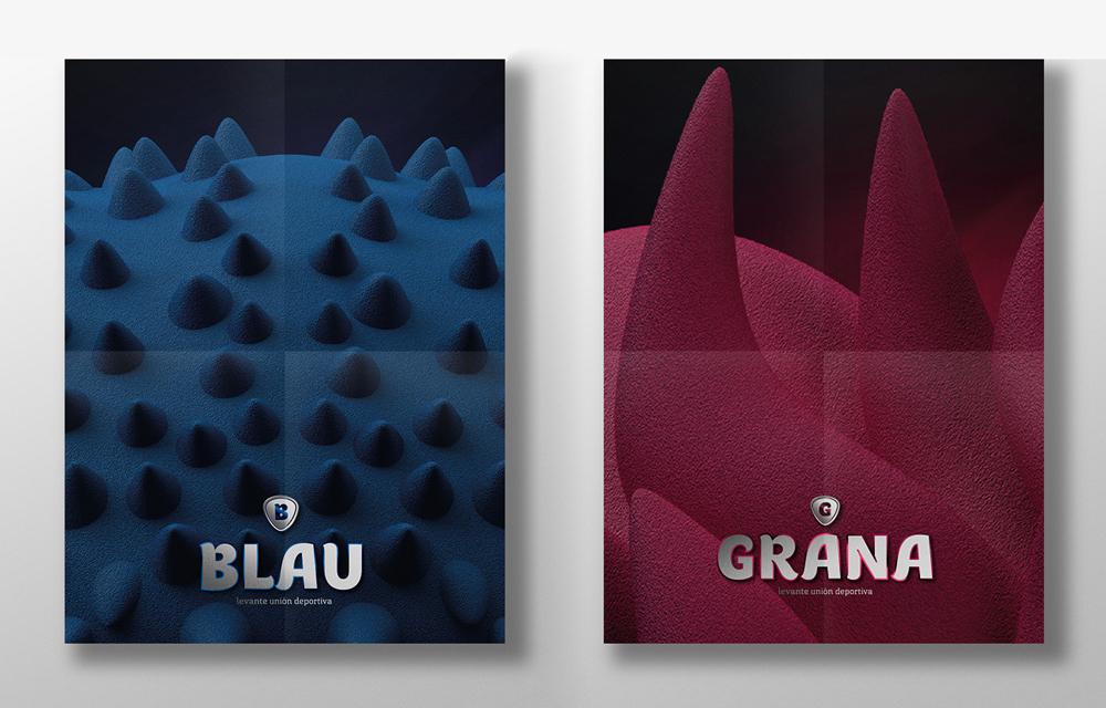Así son las nuevas mascotas del Levante UD: Blau y Grana - 3