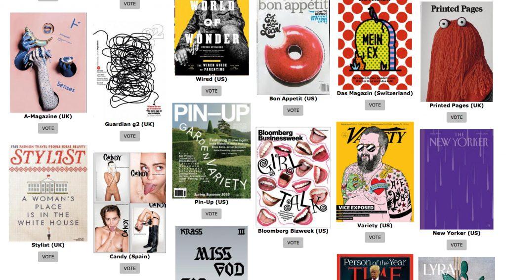 ¿Cuál es la mejor portada de revista de 2016? Coverjunkie Coverjunkie-3