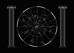 Cosmología realizada por Tactelgraphics para su exposición