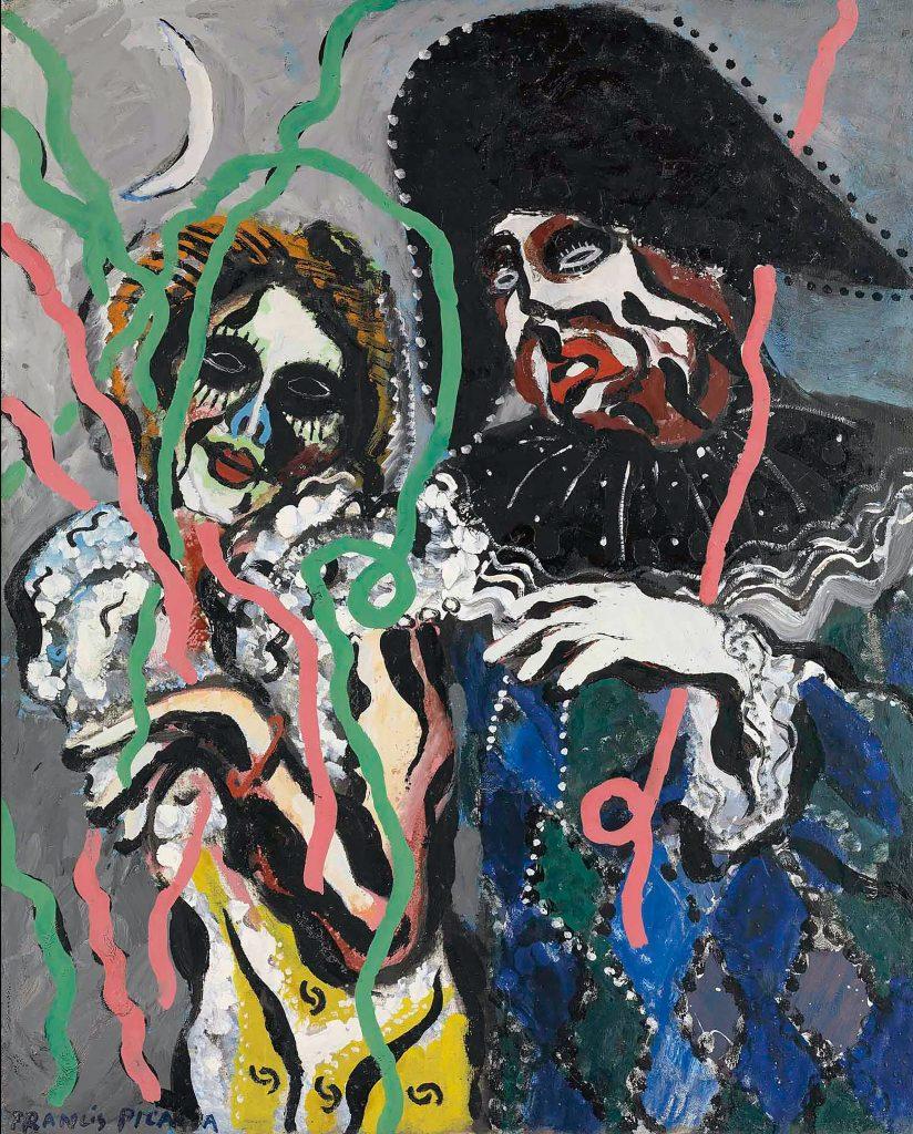 Cuadro de Francis Picabia en el MoMa
