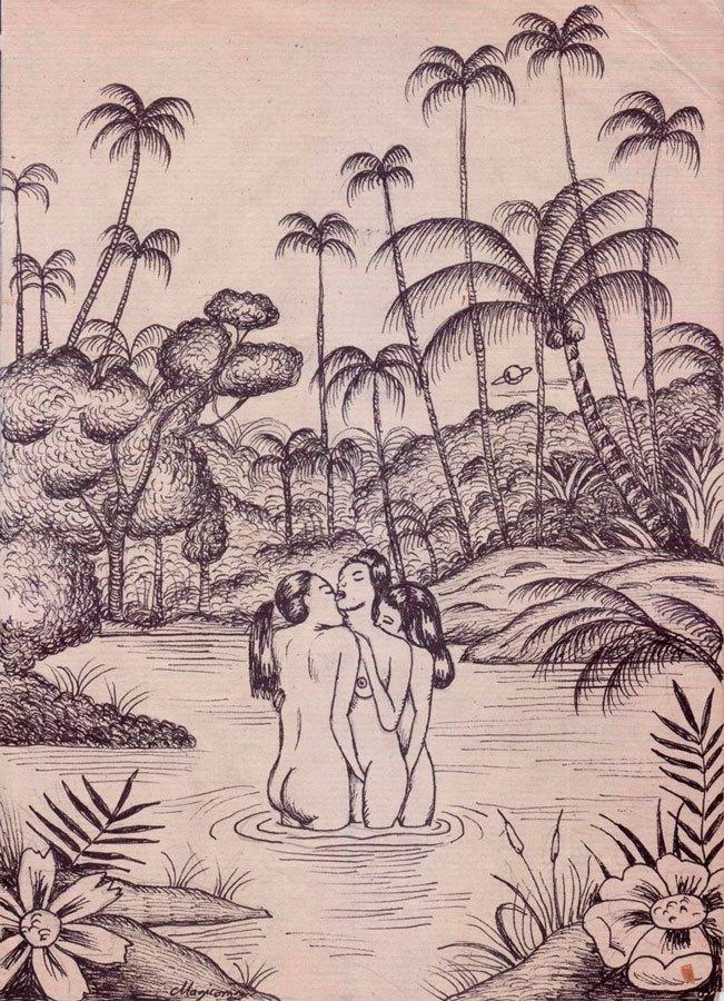 La lujuria, de Sergio Mora en la exposición Pecados Capitales de La Fiambrera