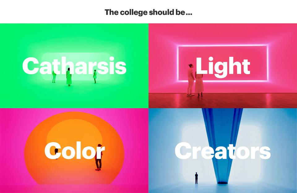 ¿Cómo debería ser la identidad de una escuela de diseño creativa? Aquí la propuesta de Erretres - 2