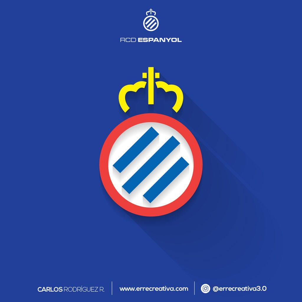¿Qué pasaría si los escudos de La Liga se diseñaran en flat design? - 13