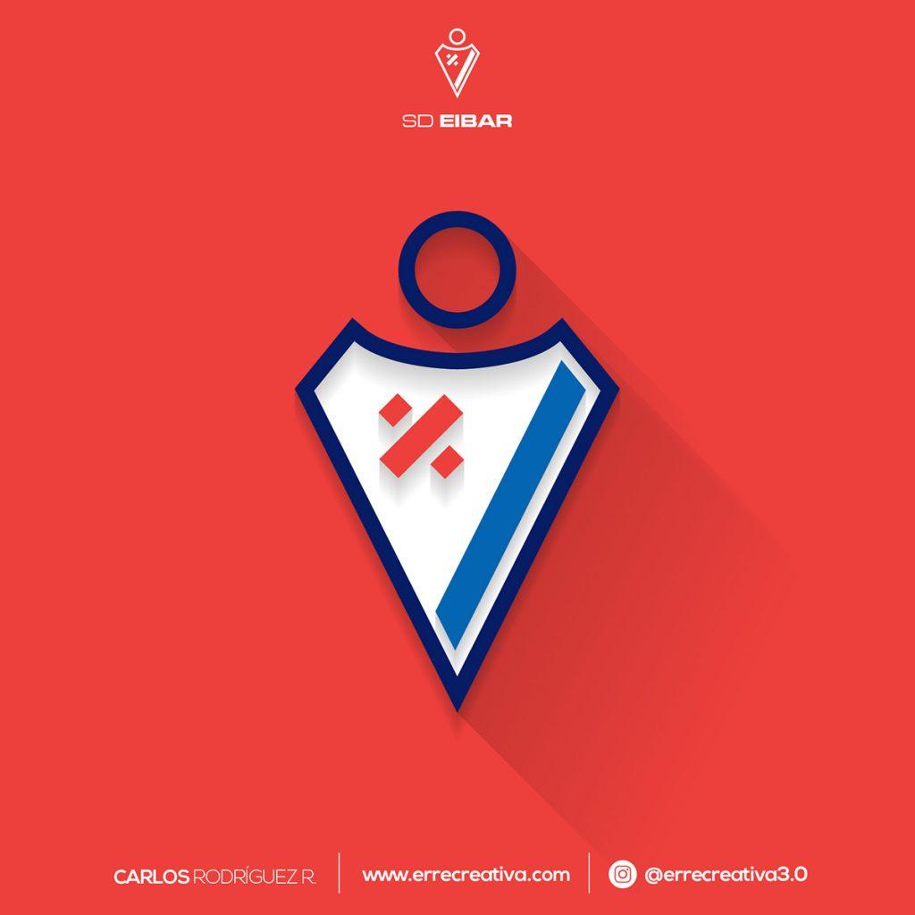 ¿Qué pasaría si los escudos de La Liga se diseñaran en flat design? - 14