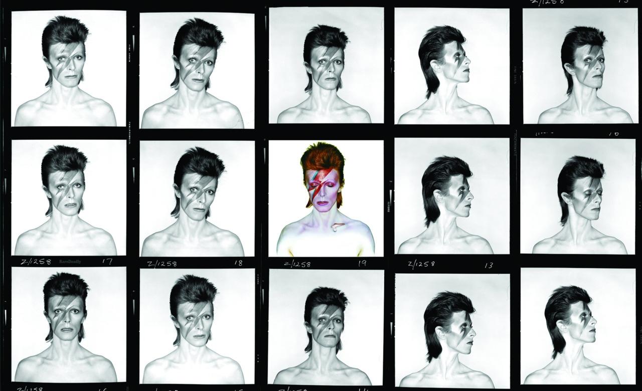 Composición de David Bowie realizada por Brian Duffy