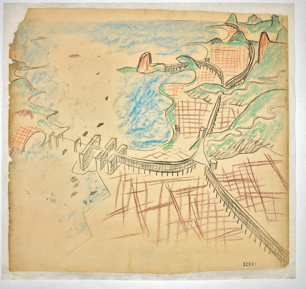 Propuesta de Le Corbusier para Río de Janeiro