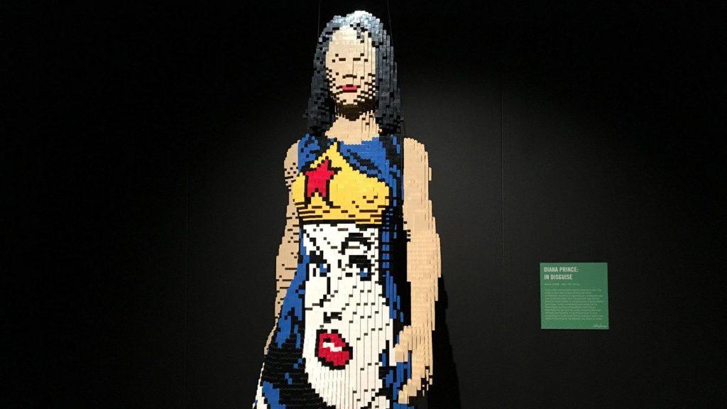 Pieza de Lego por Nathan Sawaya