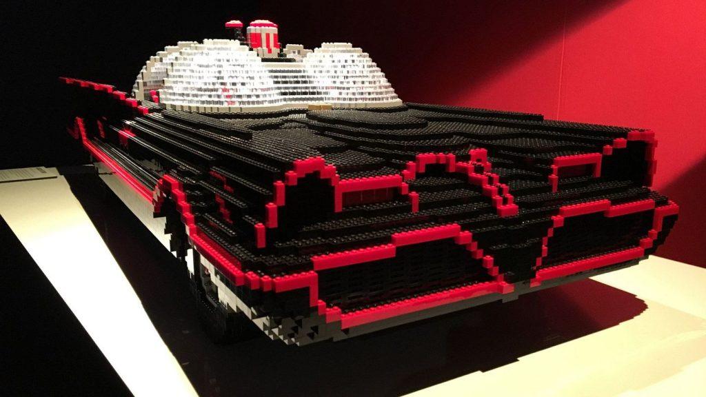 Nathan Sawaya crea a partir del Lego