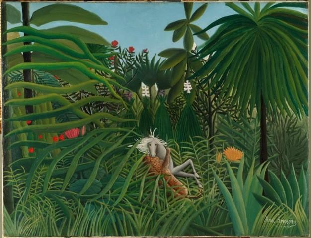 Museo Pushkin expone la pintura de Heri Rousseau adaptada