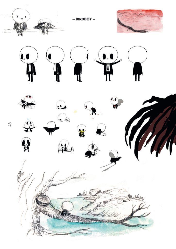 Psiconautas. Los niños olvidados, art book de la película