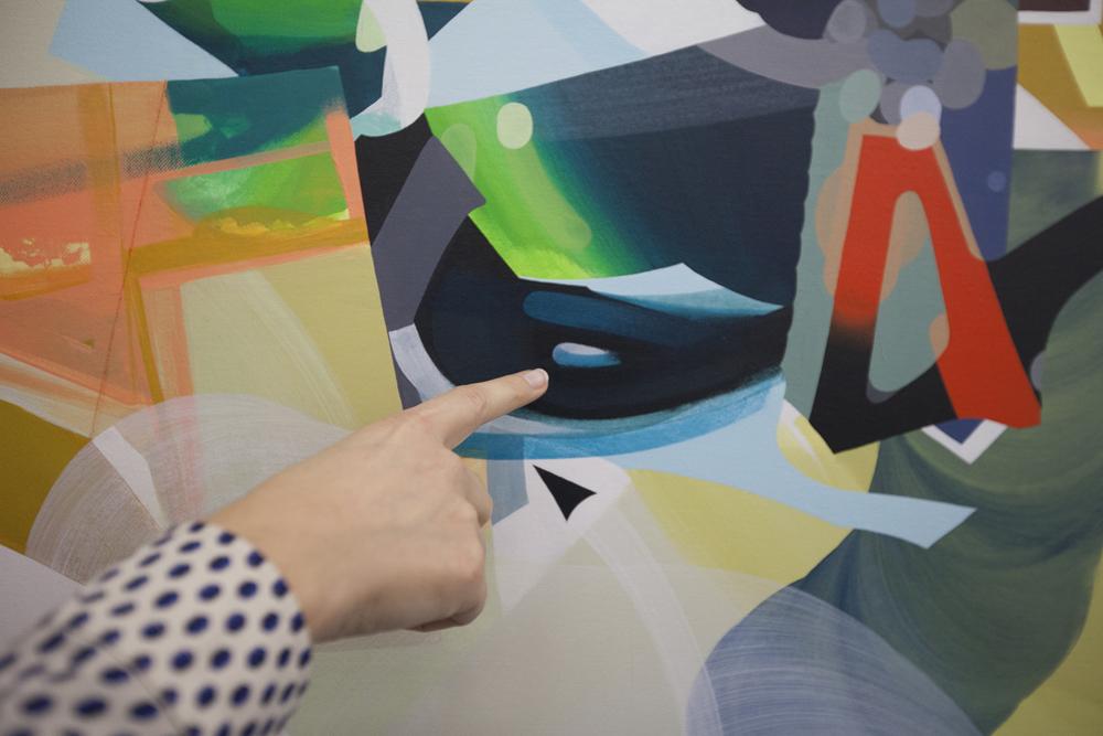 La exposición Shapes and Forms en Plastic Murs