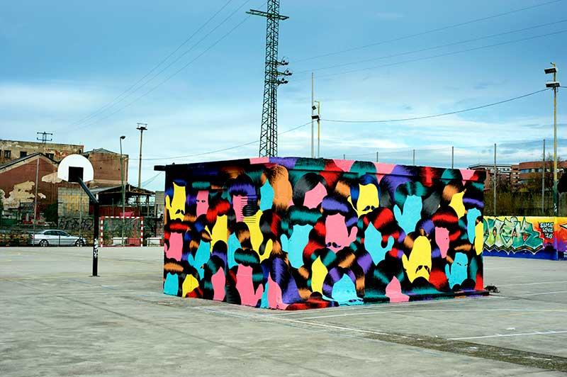 Crisis Migratoria, un mural de Grip Face contra las malas prácticas sociales en Europa
