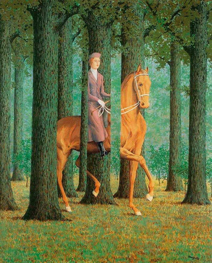 Le Blanc Seing. Magritte
