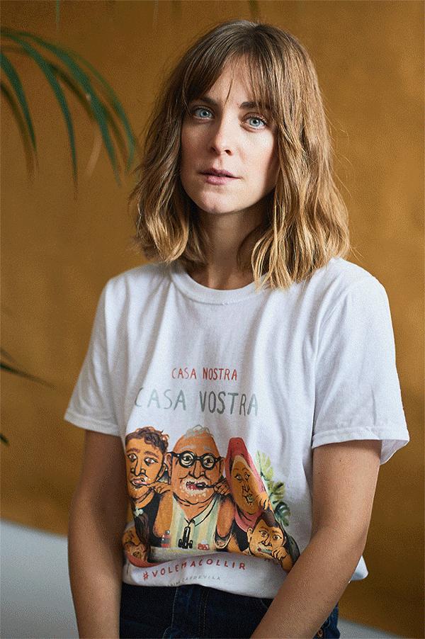 Diseño de Marina Capdevila, una de las ilustradoras solidarias