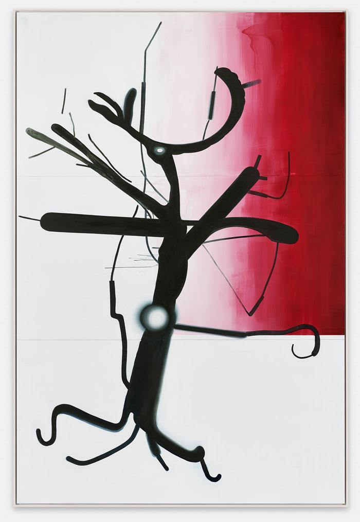 Árbol de Albert Oehlen 2015