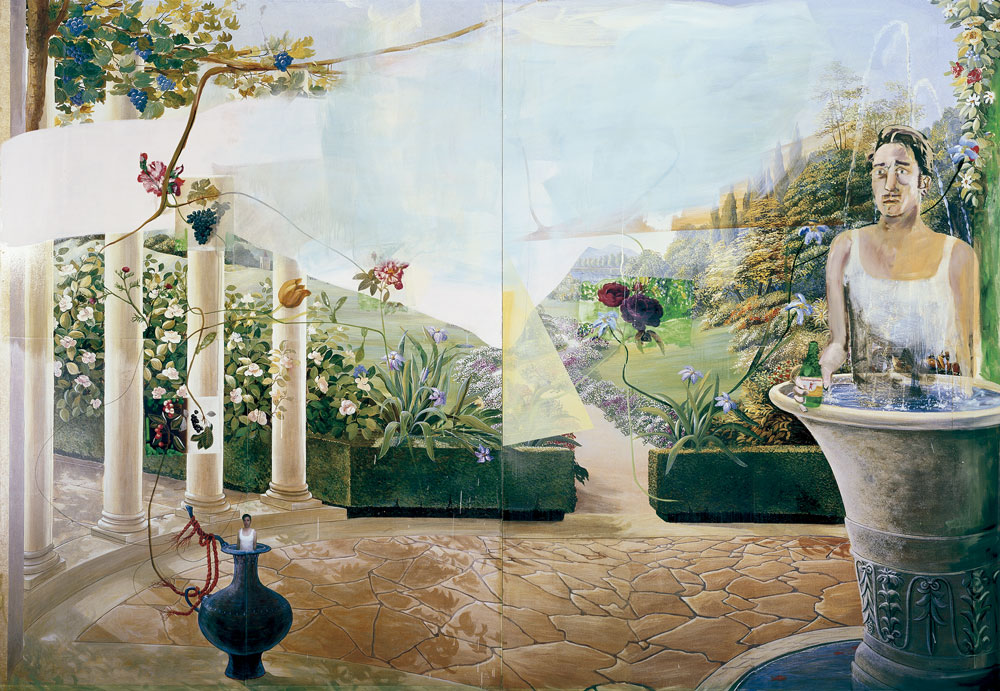 Él como primavera, de Albert Oehlen 2016