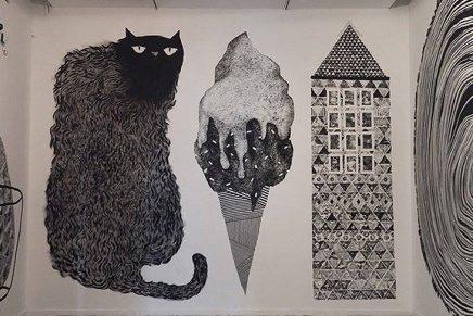 Anuario de Ilustradores; un mural para pasar el verano argentino
