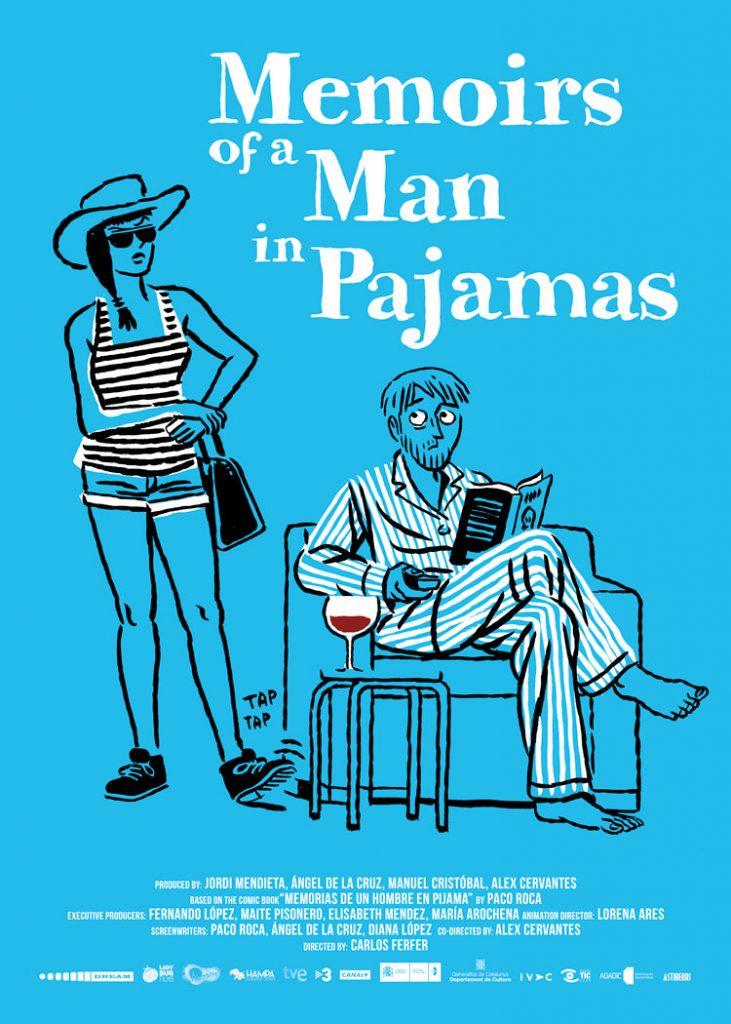 Cartel de la película Memorias de un hombre en pijama