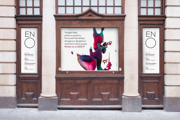 El tímido rediseño de la identidad de la English National Opera - 10