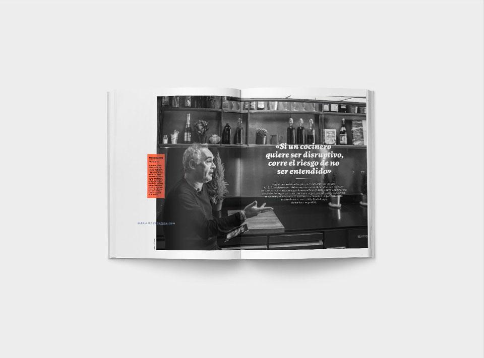 Creatividad Número Gràffica 4 - Entrevista Ferran Adrià