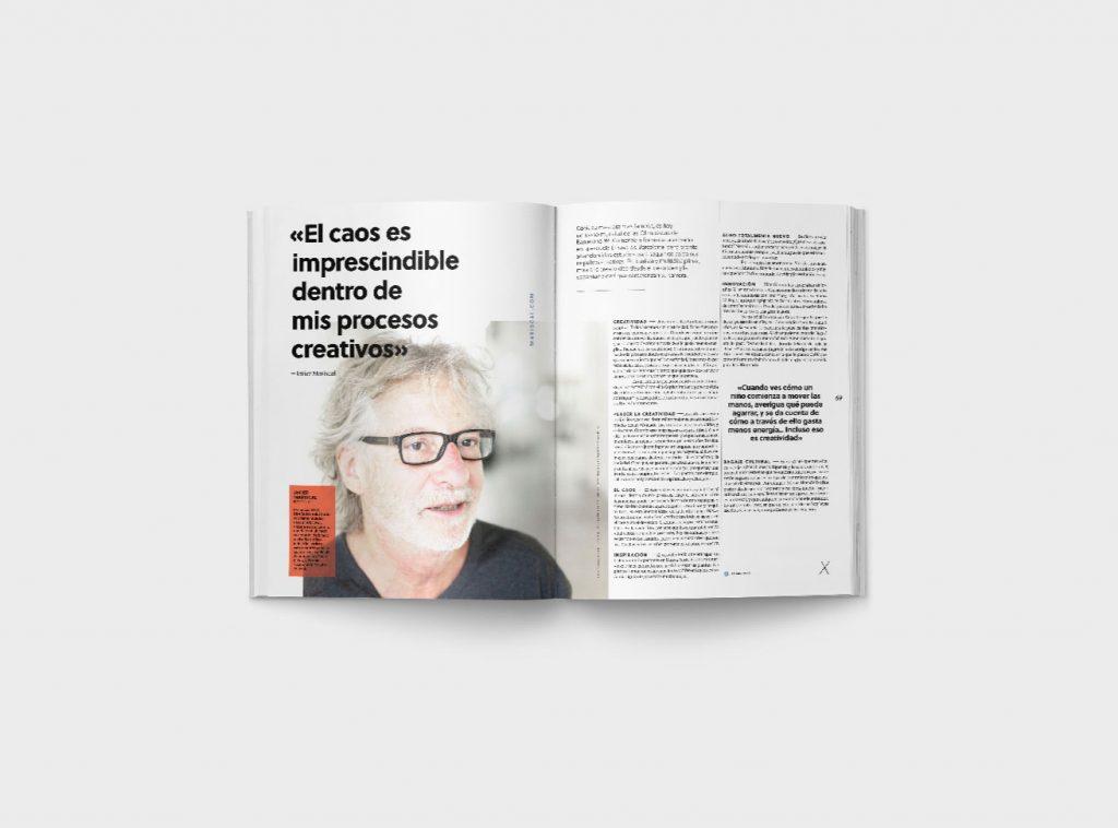 Creatividad Número Gràffica 4 - Entrevista Javier Mariscal1