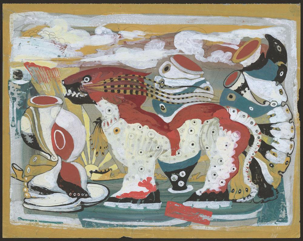 Eugene Gabritschevsky en el Pompidou