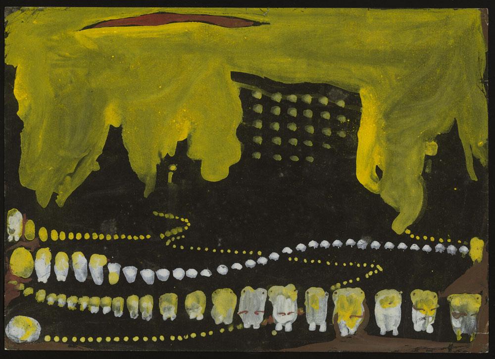 Obra del desaparecido Eugen Gabritschevsky