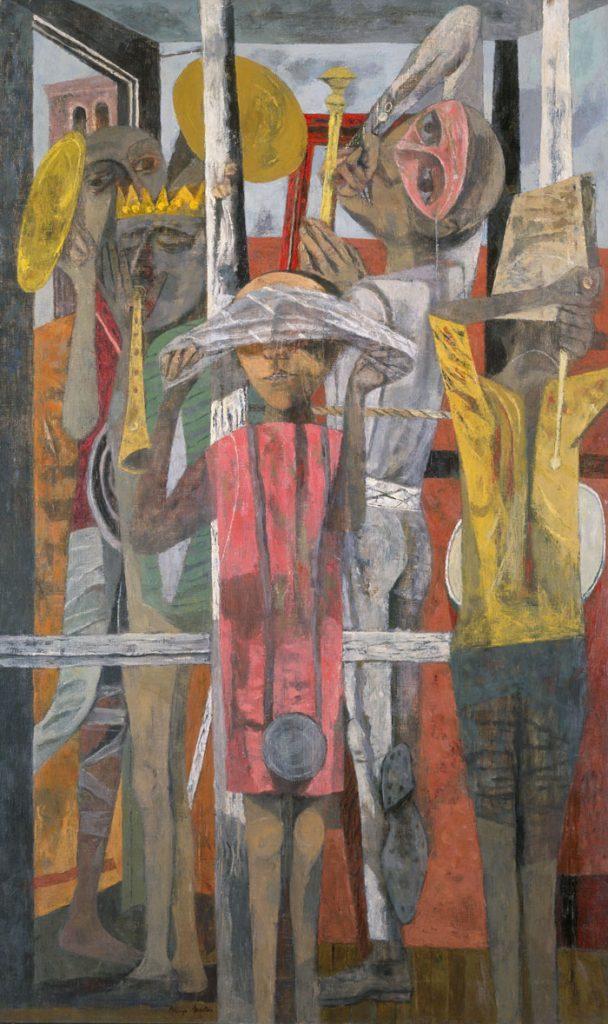 Expresionismo abstracto con Philip Guston