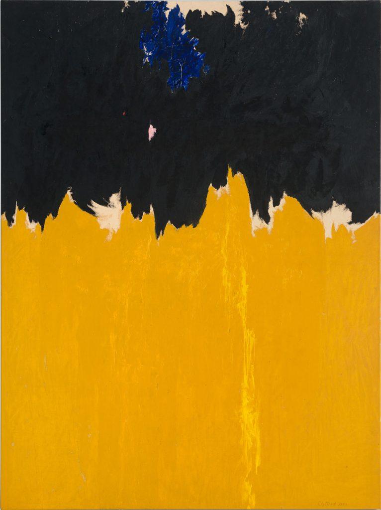 Expresionismo abstracto de Clyfford Stil
