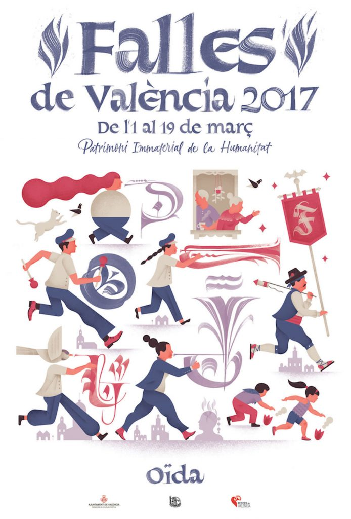 Cartel Fallas 2017 - Oido1