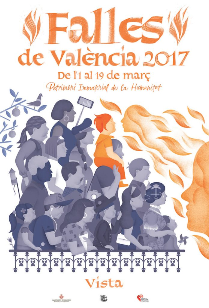 Cartel Fallas 2017 - Vista1